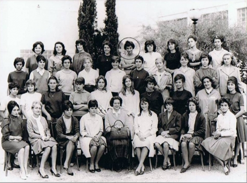Nice, Lycée Calmette, première M 1, 1962-1963.jpg